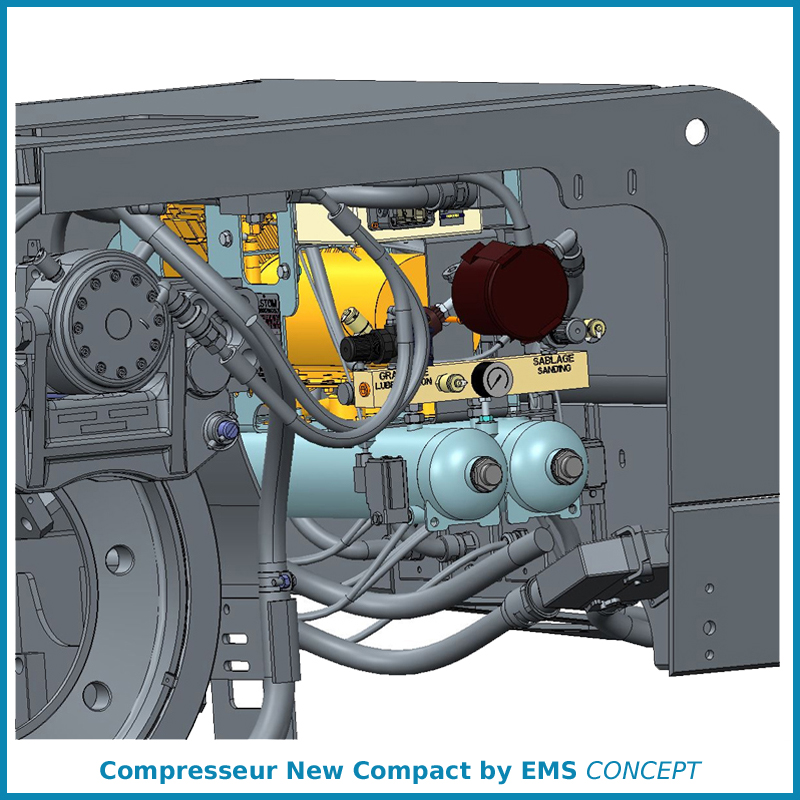 New compact EMS CONCEPT