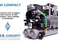 new concept compresseur de graissage et sablage