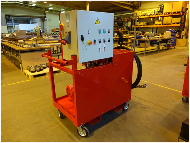 Centrale hydraulique EMS Concept
