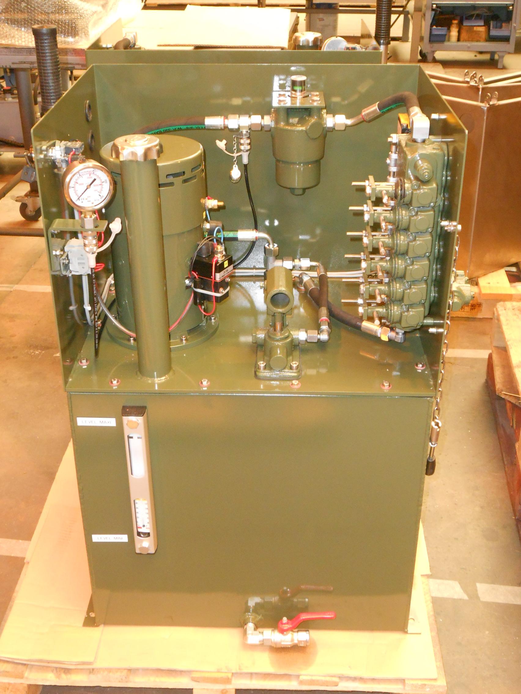 Centrale hydraulique GH90 EMS Concept