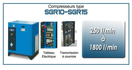 EMS Concept Gamme SGR10 SGR15