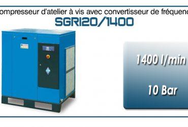 Compresseur à vis SGRI20 – 1400 l/min