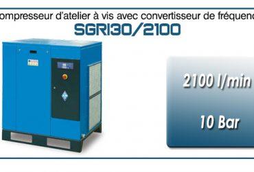 Compresseur à vis SGRI30 – 2100 l/min