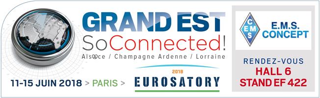 """EMS CONCEPT au salon """"Eurosatory"""" 2018"""