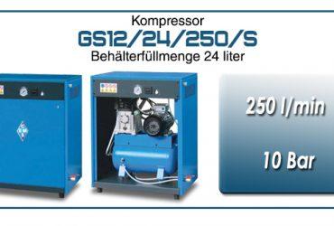 Kompressor typ GS12/24/250/S