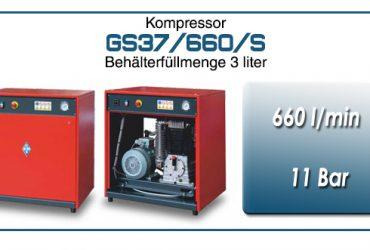 Kompressor typ GS37/660/S