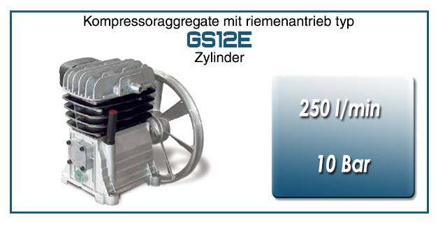 Kompressoraggregate mit riemenantrieb typ GS12E