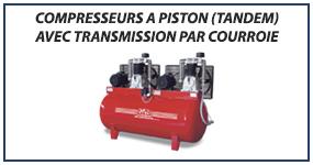 08 Compresseurs a piston tandem avec transmission par courroie