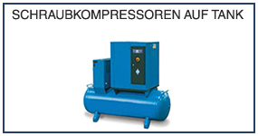 DE 14 Schraubkompressoren auf tank