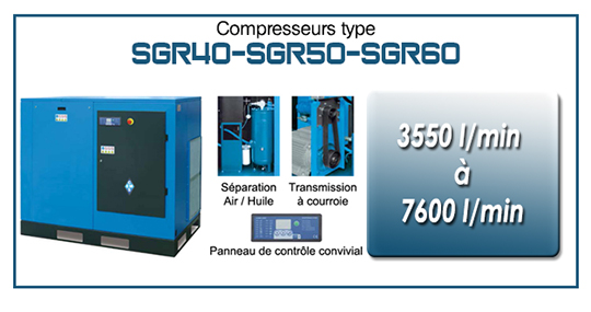 EMS Concept Gamme SGR40 SGR50 SGR60