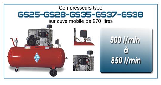 EMS Concept Gamme GS25 28 35 37 38