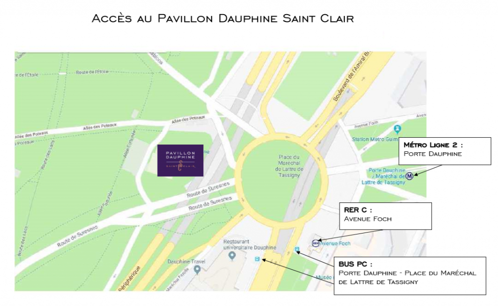 Salon Transrail 2019 : accès