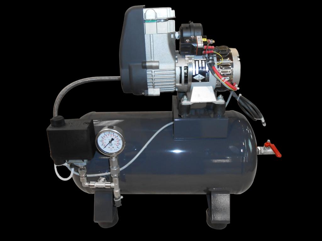 Compresseur PTO250 MP80 sur cuve 10 litres Ems Concept