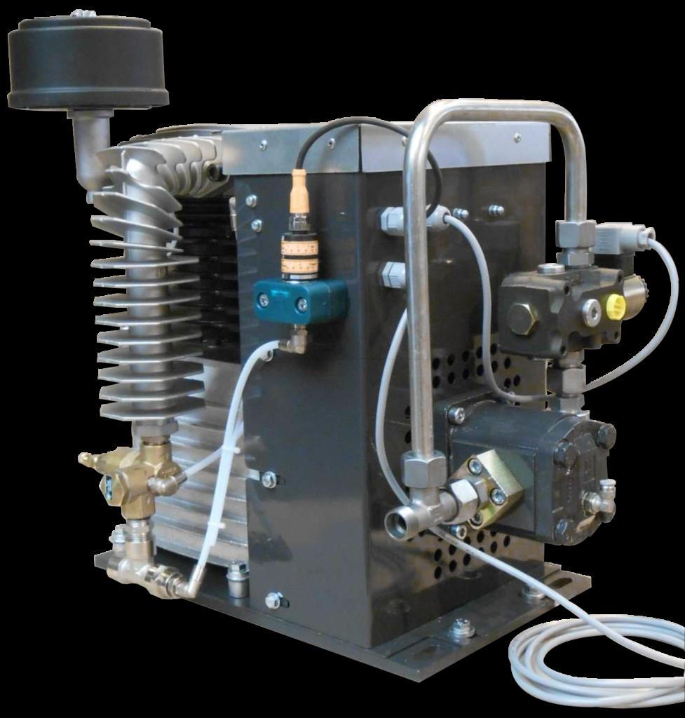 hydro-compresseur GS35 EMS concept