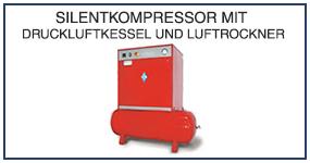 DE 05 Silentkompressor mit Druckluftkessel und Luftrockner