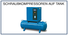 DE 13 Schraubkompressoren auf tank